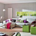 Рельефные панели в дизайне гостиной
