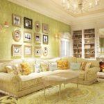 Цвета оформления в дизайне интерьера в прованском стиле
