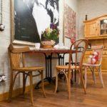 Ретро стиль в интерьере - кухонная мебель