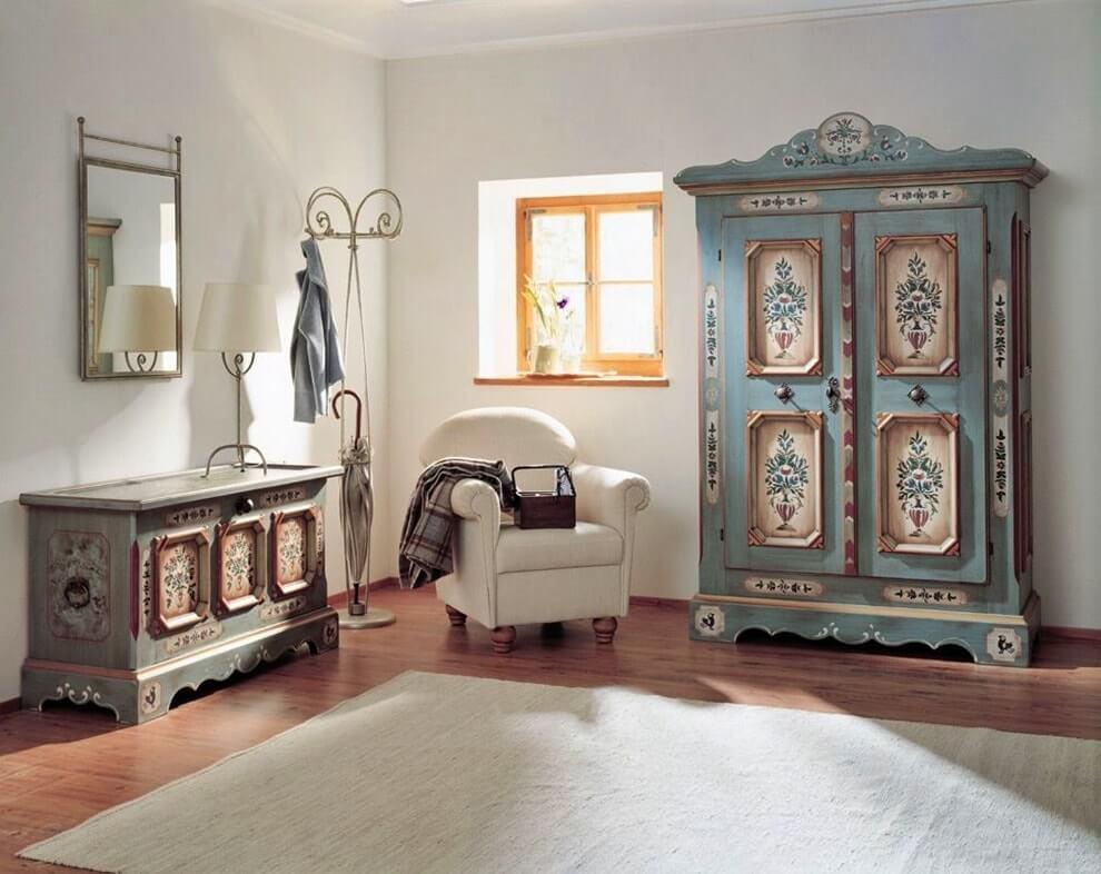 Стиль винтаж в интерьере - мебель