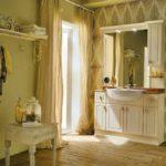 Стиль винтаж в интерьере ванной комнаты
