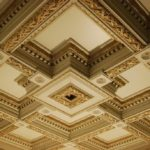 Дизайн кессонных потолков 2