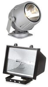 выбор уличного освещения для дачи - прожекторы