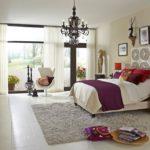 Стиль эклектика в интерьере спальной комнаты фото 2