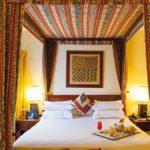 Оформление спальной в африканском стиле