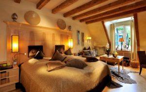 Спальная комната в африканском стиле фото