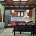 Японский стиль в интерьере кухни фото