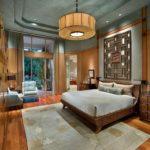 Японский стиль в интерьере спальни фото