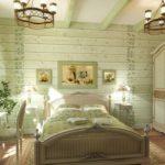Спальня в прованском стиле фото