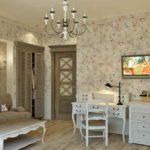 Оформление комнаты в стиле прованс