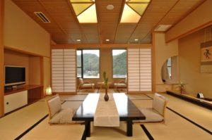Дизайн гостиной в японском стиле