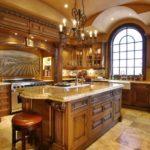 Дизайн интерьера кухни в английском стиле фото