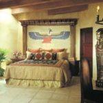Египетский стиль в интерьере спальной комнаты