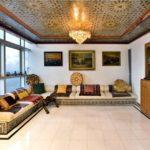 Арабский стиль в интерьере гостиной