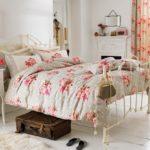 Стиль винтаж - цветовое оформление спальной комнаты