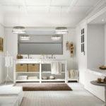 Стиль винтаж в интерьере ванной комнаты фото