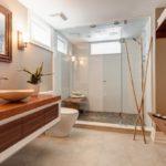 Интерьер ванной в японском стиле фото