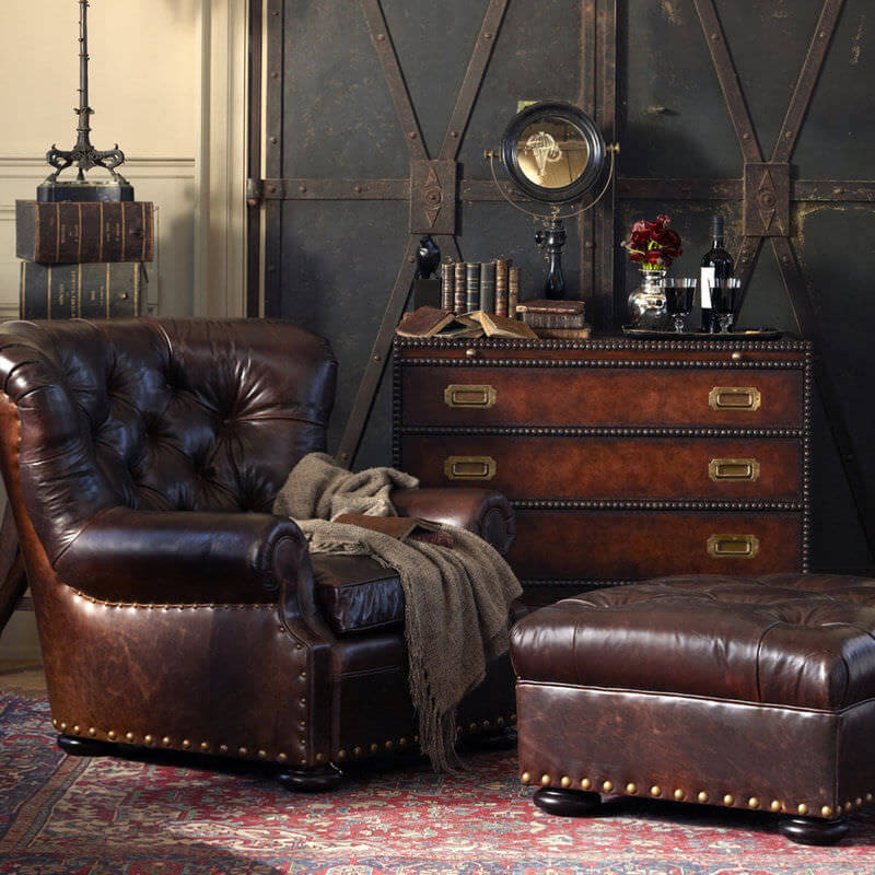 Стиль стимпанк в интерьере - мебель