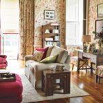 Интерьер гостиной комнаты в английском стиле фото