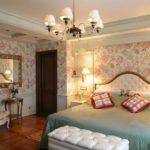 Интерьер спальни в английском стиле фото