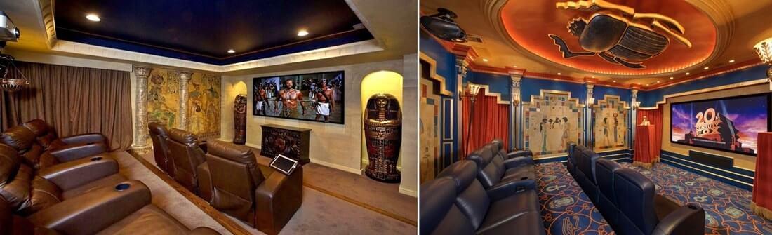Потолок в египетском стиле