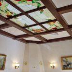 Дизайн кессонных потолков 4