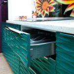 Мебельные 3д фасады для кухни фото