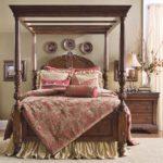 Интерьер спальной в английском стиле фото