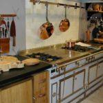 Стиль ретро в интерьере кухни