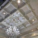 Дизайн кессонных потолков 5