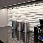 Дизайн кухни с 3д панелями