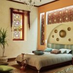 Марокканский стиль в интерьере спальной