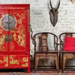 Интерьер в китайском стиле - мебель