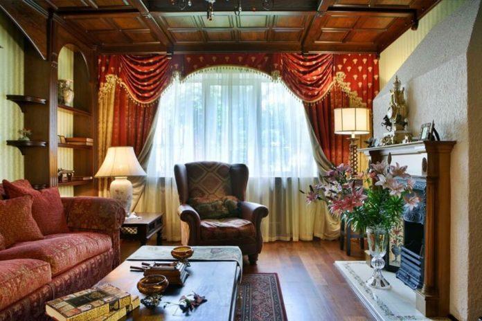 Дизайн интерьера комнат в английском стиле