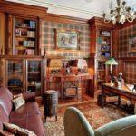 Английский стиль в интерьере гостиной комнаты