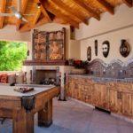 Оформление кухни в африканском стиле