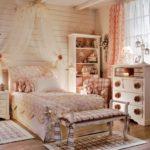 Винтажный стиль в интерьере детской комнаты