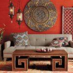 Марокканский стиль в интерьере - освещение фото