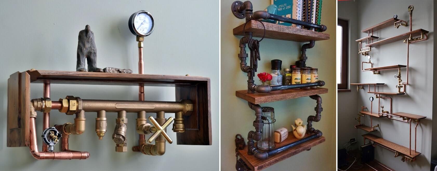 Стиль стимпанк в интерьере - мебель фото 3
