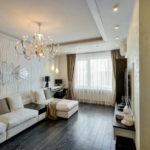 3д панели в интерьере современной гостиной фото 2