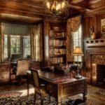 Английский стиль в интерьере гостиной фото