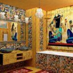 Ванная в египетском стиле фото