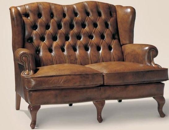 Обивка дивана по технике Каретной стяжки