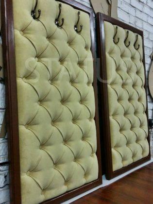 Мебель для прихожей в каретной стяжке