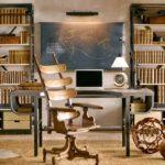 Книжные стеллажи в интерьере фото