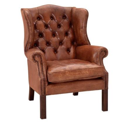 Классическое английское кресло
