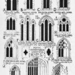 Варианты окон в стиле готика
