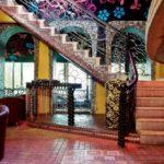 Стилевое оформление лестницы
