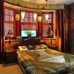 Индийский стиль в интерьере спальни