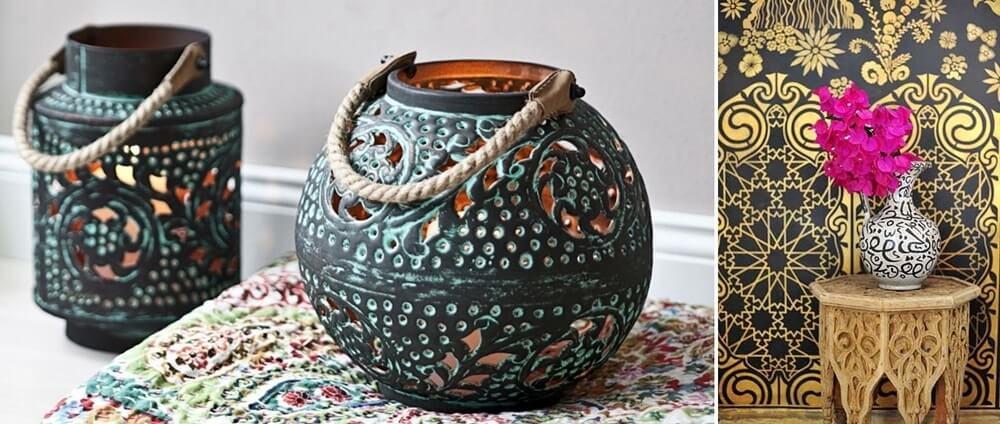 Декор в арабском стиле фото